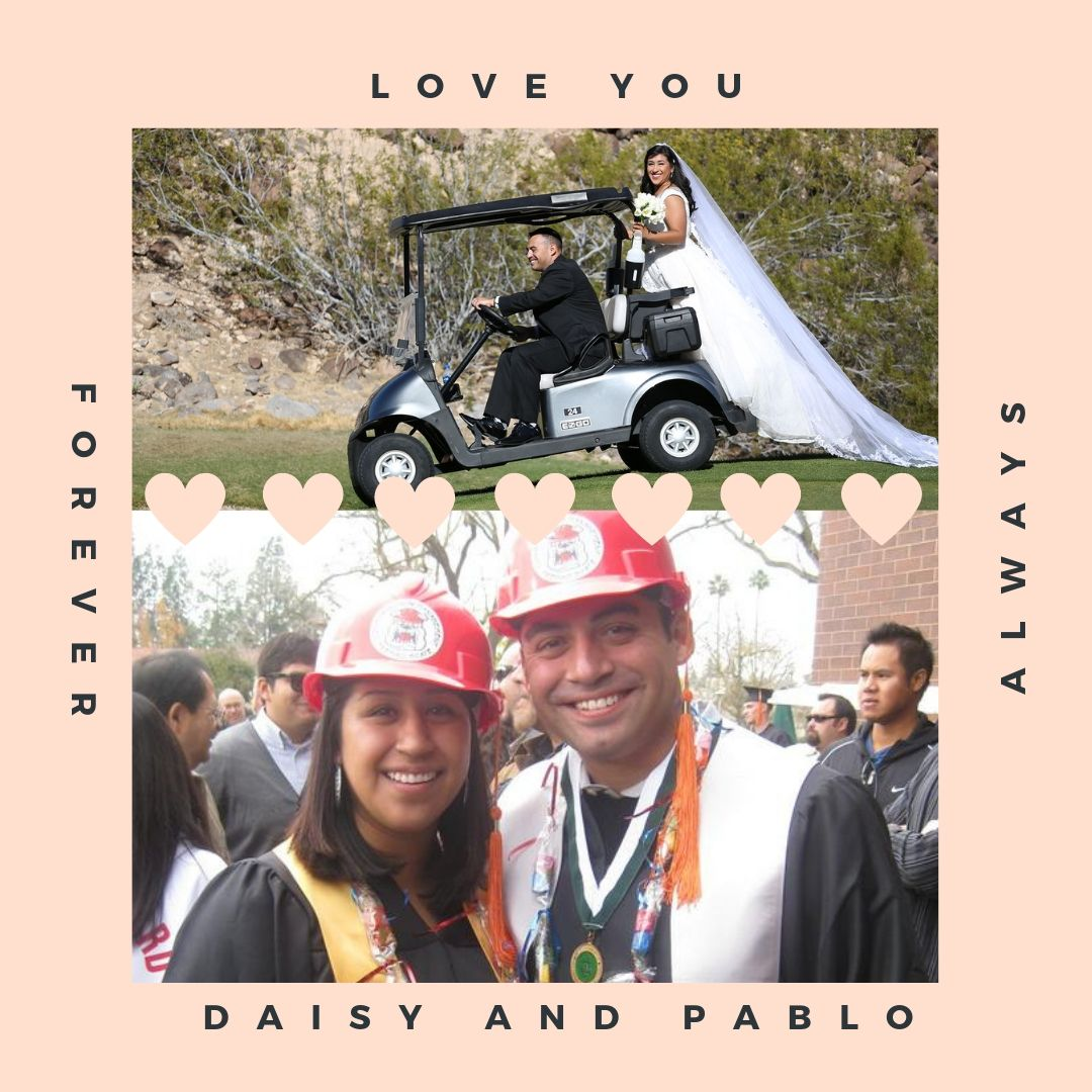 Pablo and Daisy canva