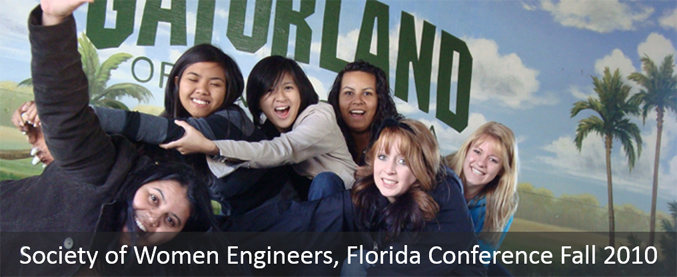 Society of Women Engineers, Florida Conference Fall 2010