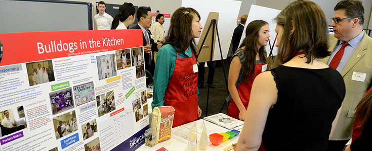 President's Showcase of Excellence Bulldogs in the Kitchen Poster Presentation