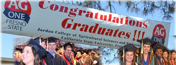ag one banner congratulations students