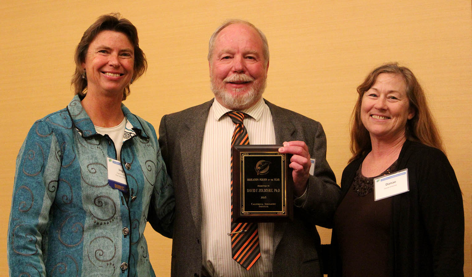 Dr. David Zoldoske - 2014 California Irrigation Institute Person of the Year