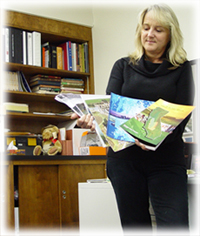 Kathy Looking at publications