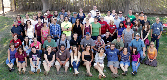 2012 Department Group photo